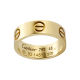 beste cartier love Gelbgold Ring Replik B4084600