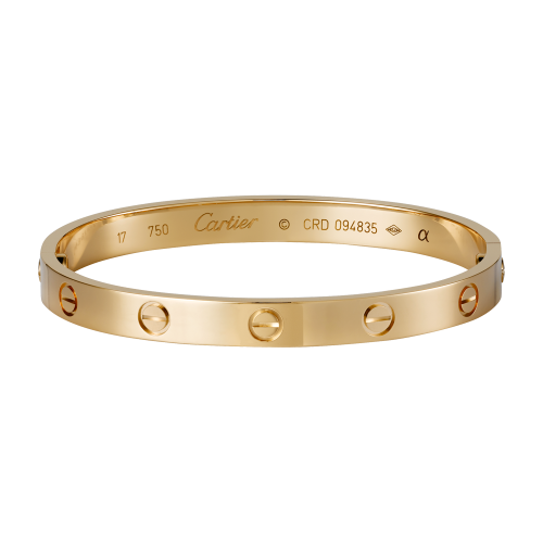 Bonne qualité bracelet or rose love cartier replique B6035616