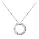 AAA cartier love white gold pendant replica B7014300