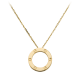 AAA cartier love yellow gold pendant replica B7014200