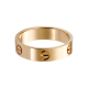 Best cartier love pink gold ring replica B4084800