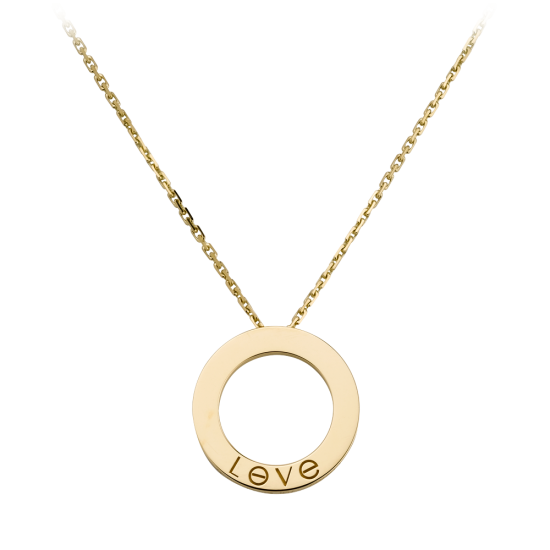 AAA cartier love yellow gold pendant replica B7014200 - Click Image to Close
