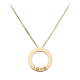AAA pendentif or jaune love cartier replique B7014200
