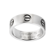 Le meilleur bague or blanc love cartier replique B4084700