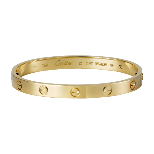 Good quality cartier love yellow gold bracelet replica B6035516