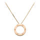 AAA cartier love pink gold pendant replica B7014400