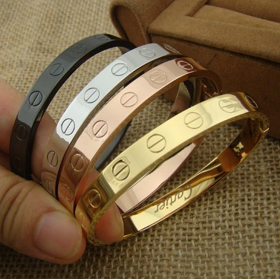 bracelet cartier or rose replique